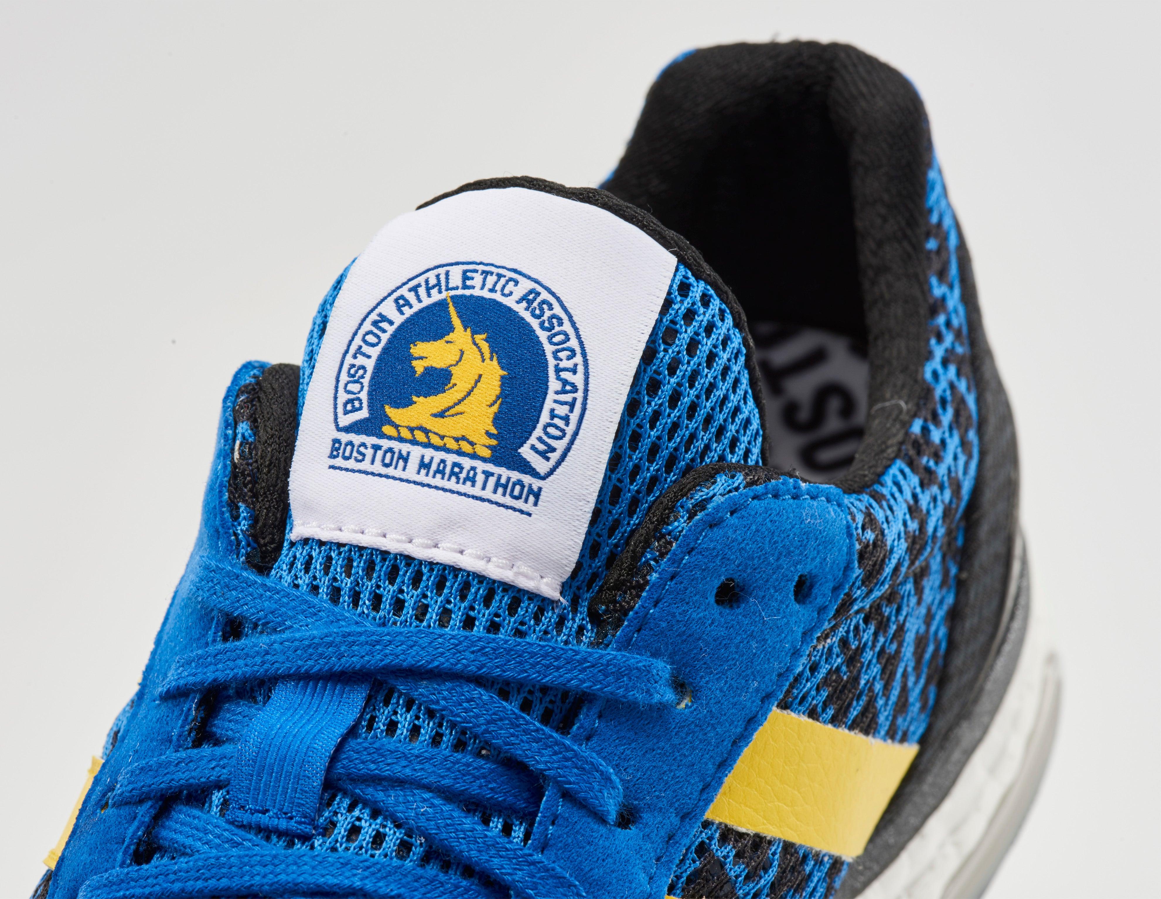 Adidas marathon shoe tongue
