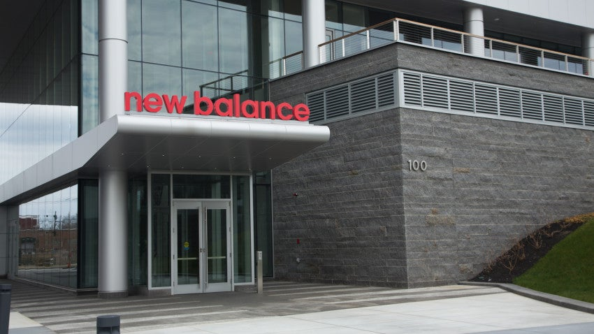 New Balance's former headquarters were located at 20 Guest Street, just a short walk from its new headquarters.