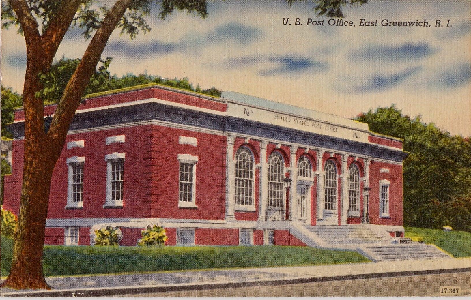 East Greenwich, Rhode Island, Post Office.