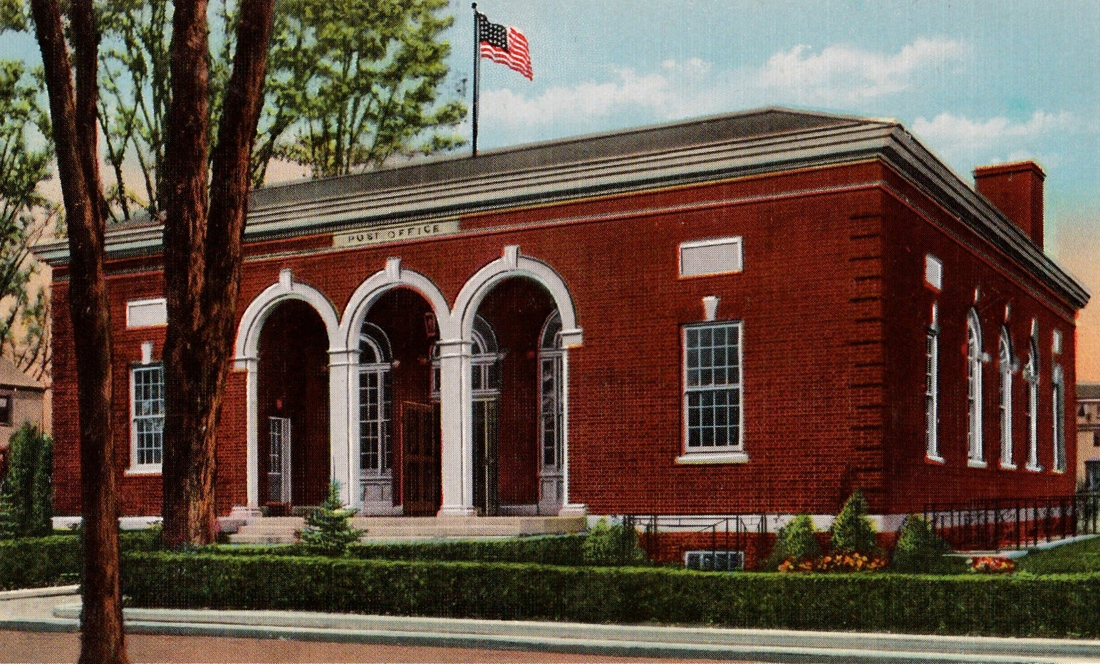 Claremont, New Hampshire, Post Office.