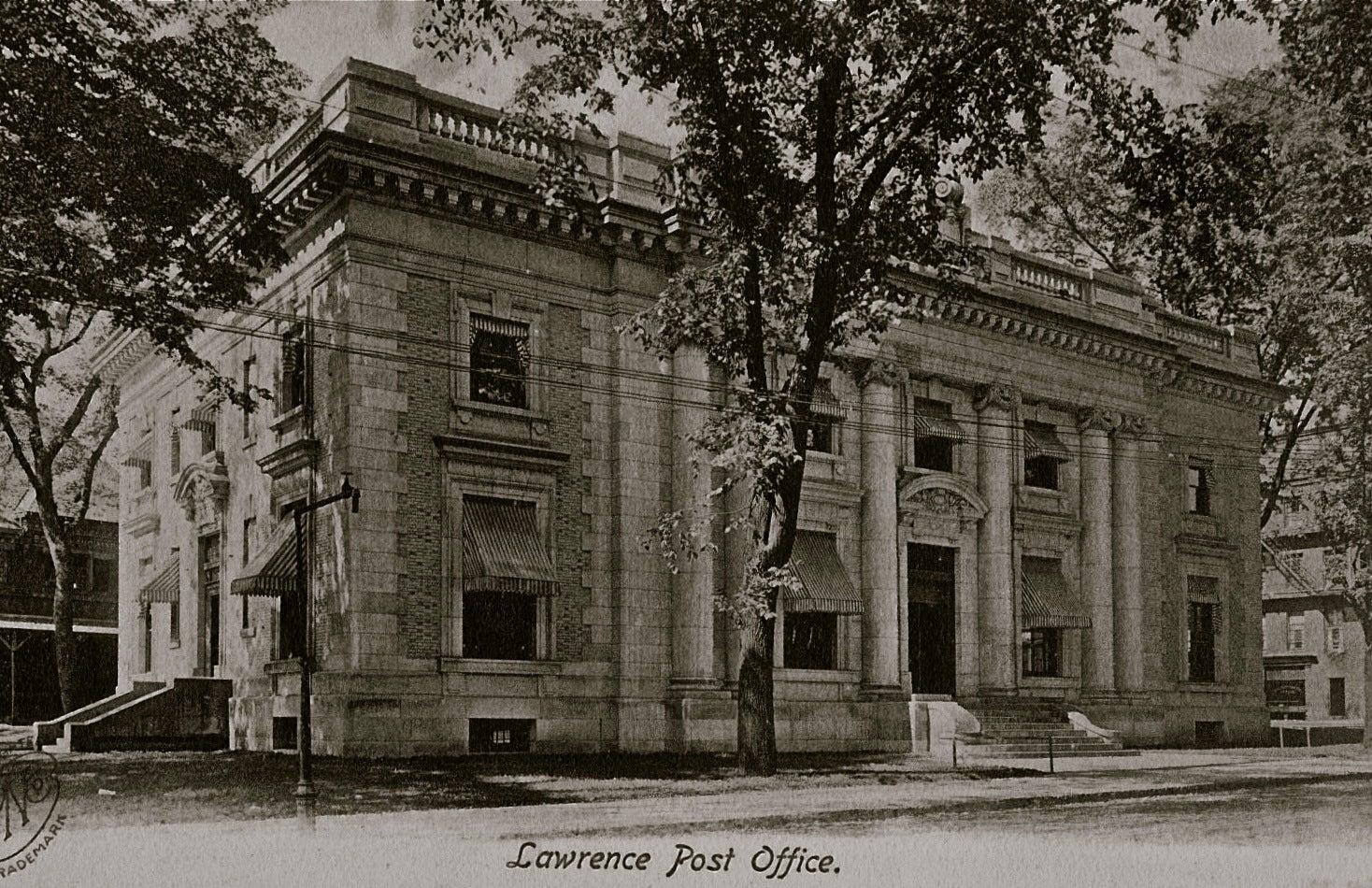 Lawrence, Massachusetts, Post Office.