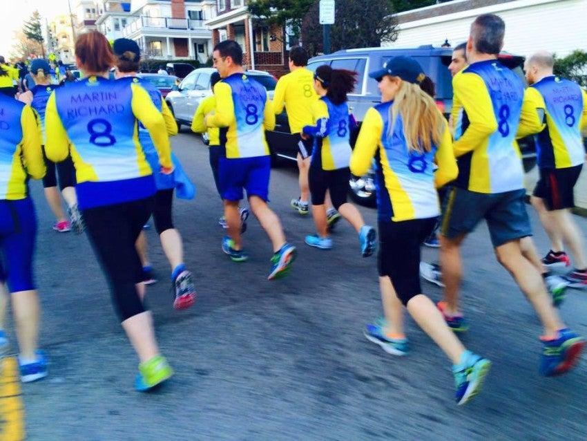 Susan Hurley runs with Team Mr8 through CharityTeams.
