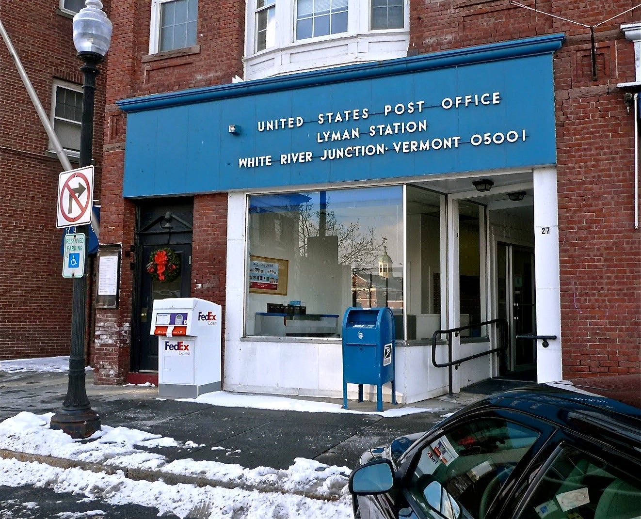 The White River Junction, Vermont, Post Office