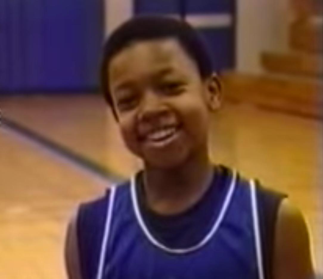Isaiah Thomas in 6th grade