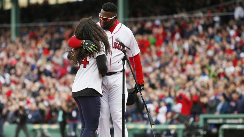 Used Cars Boston >> David Ortiz was the proudest Papi watching his daughter ...