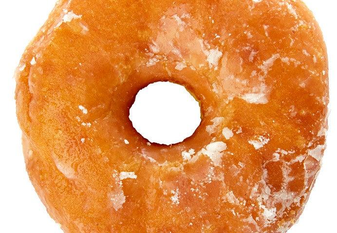A honey glaze doughnut from Verna's.