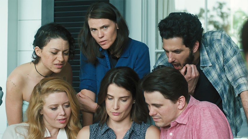 Cobie Smulders, Alia Shawkat, and Natasha Lyonne star in The Intervention.