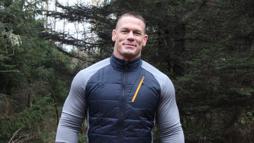 American Grit host John Cena.