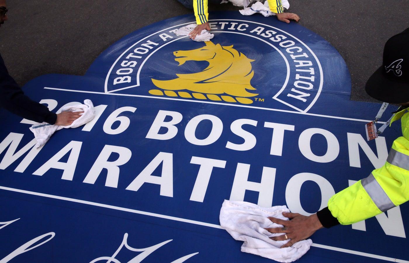 Photos from the 2016 boston marathon