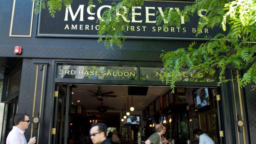 McGreevy's Pub.