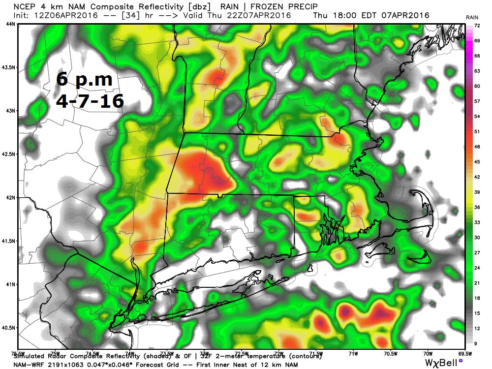 Radar 6 p.m Thursday 4-7-16