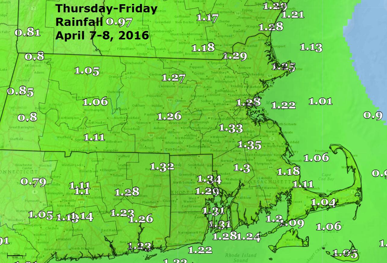 Rain potential Thursday through Friday