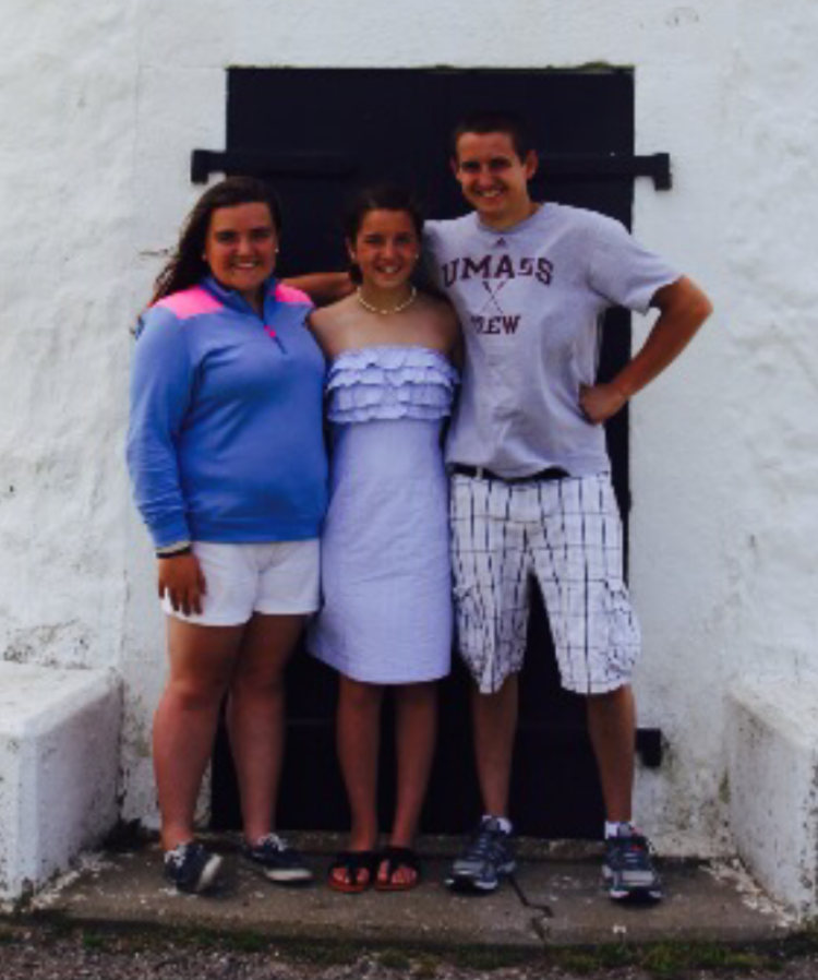 Conrad Roy and his sisters, Camdyn and Morgan, in a photo from May 2014. He died a month later.