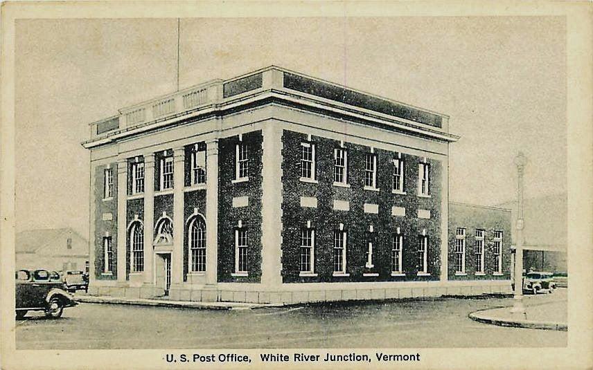 White River Junction, Vermont, Post Office.