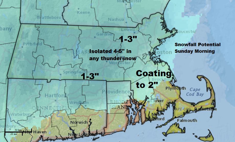 Snow Potential Sunday 4-3-16