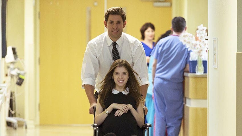 A still from The Hollars, starring and directed by Newton native John Krasinski.
