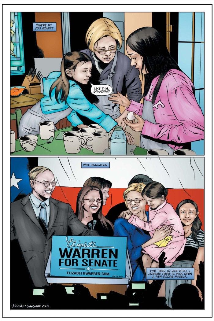 Female Force: Elizabeth Warren