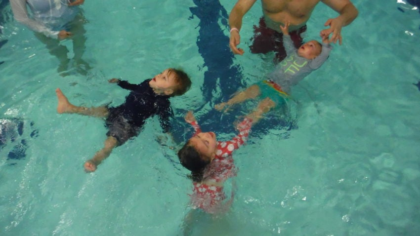 a1a6a9413 Controversial water survival class for babies gaining in popularity ...