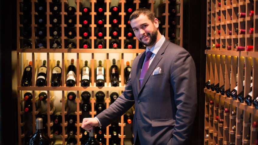 Rodrigues said his interactions with customers who are similarly passionate about wine is the best part of his job.