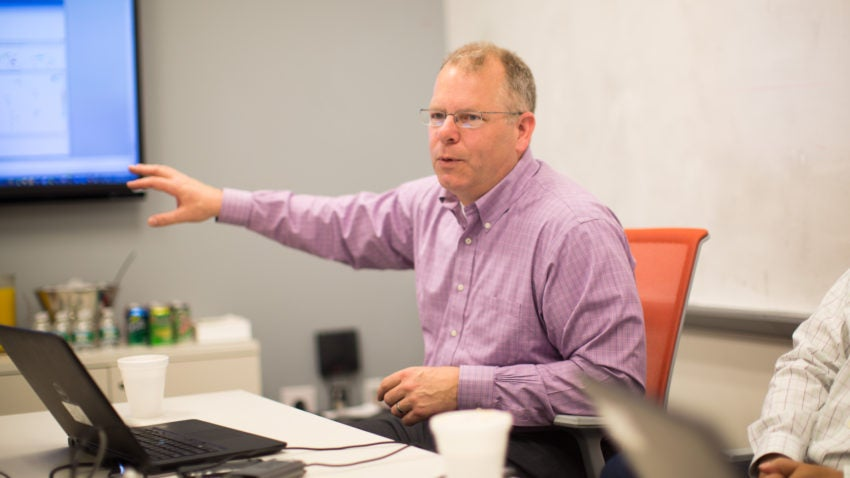 Greg Gordon has worked at Kronos for over 14 years.