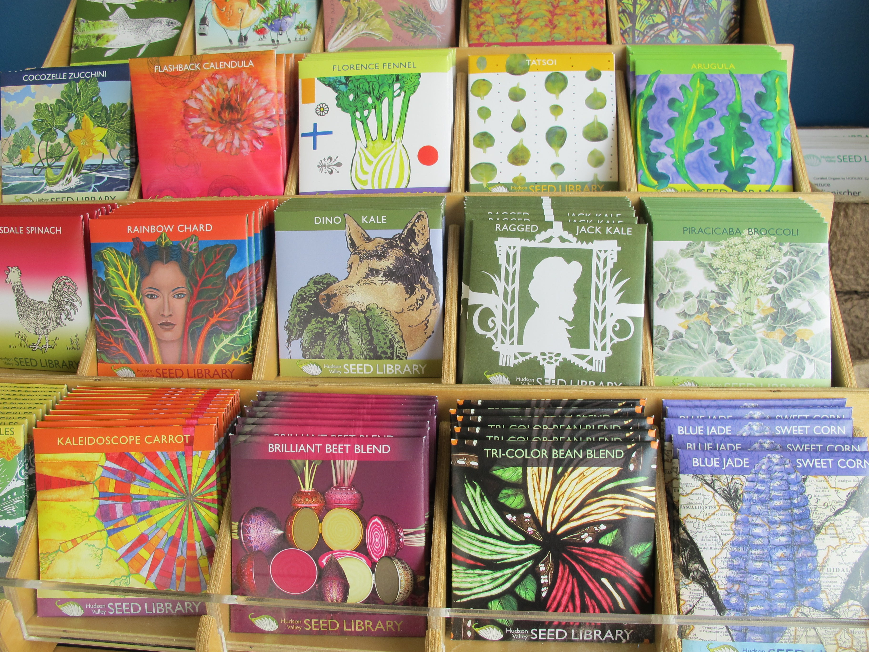 Hudson Valley Seed Library at Trade Secrets