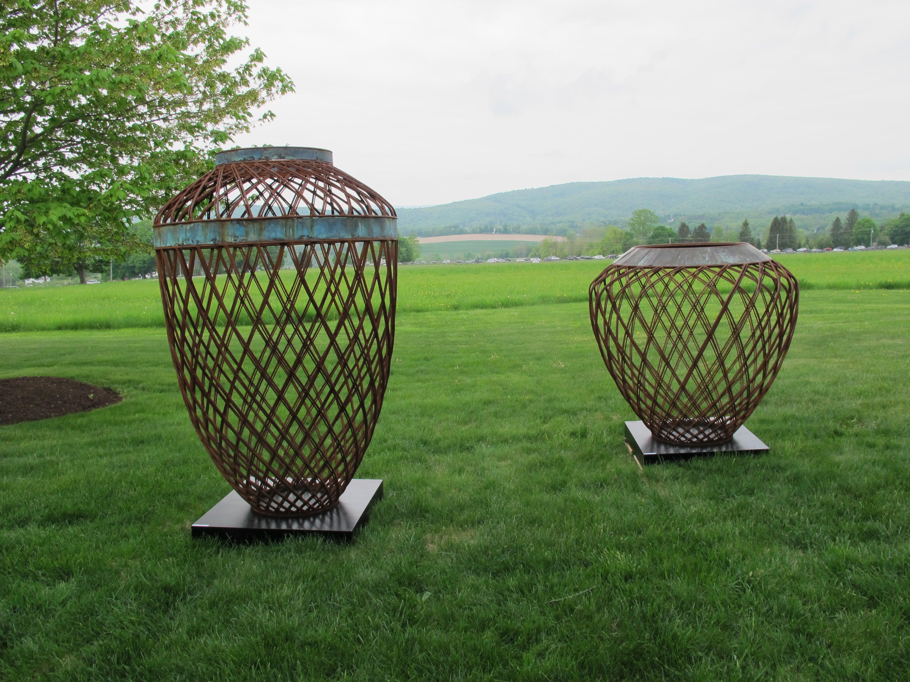 Sculptures at Trade Secrets