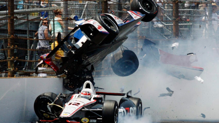Pollard Used Cars >> 14 of the worst crashes in Indianapolis 500 history | Boston.com