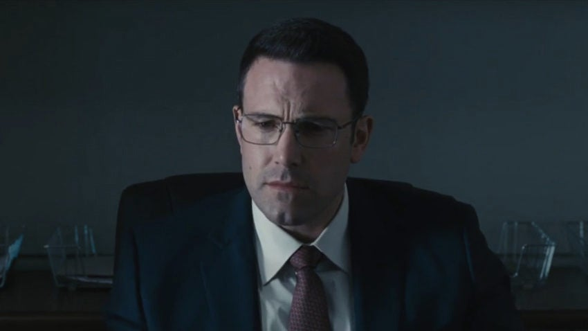Ben Affleck is a sexy accountant (yes, really) in the trailer for his new movie