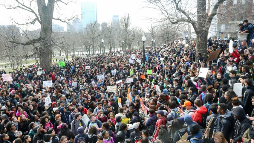 Boston Public School Students Will Walk Out To Protest The