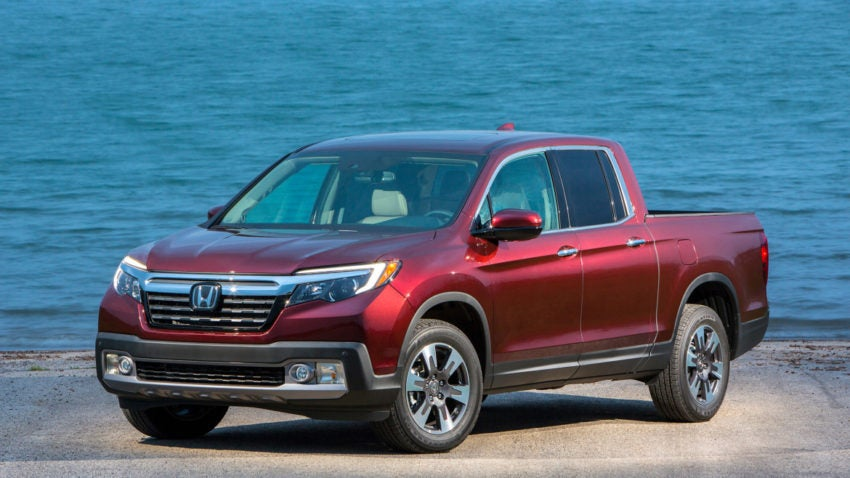 Review New Honda Ridgeline Is A Mid Sized Pickup With Unique Features Boston