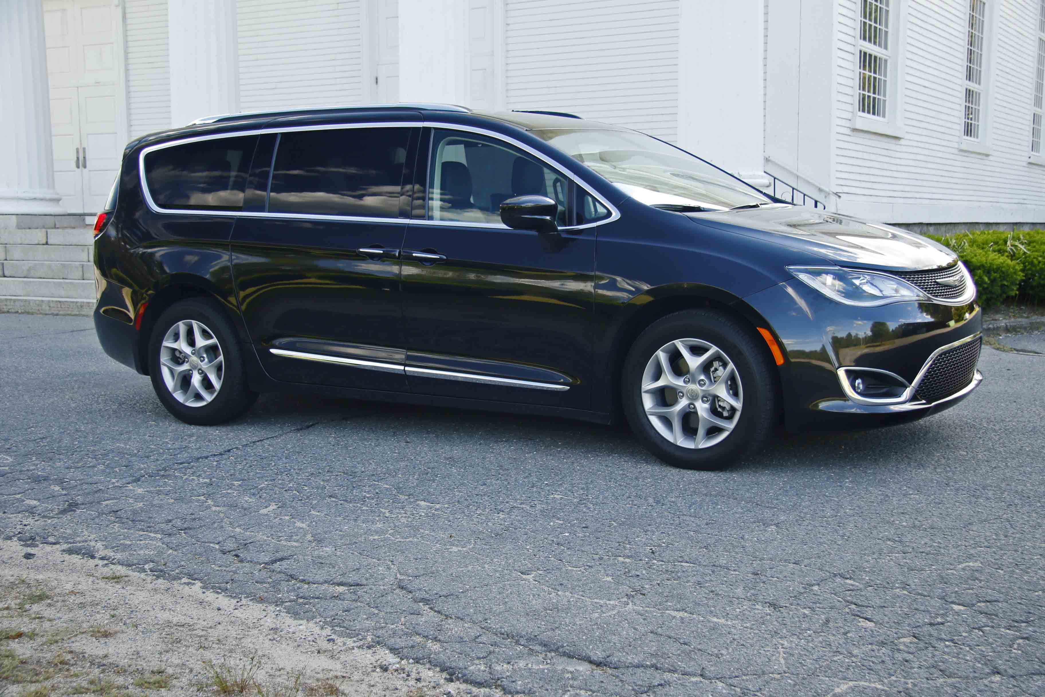 THINKING INSIDE THE BOX: Chrysler's Pacifica is another step forward in the evolution of the minivan.