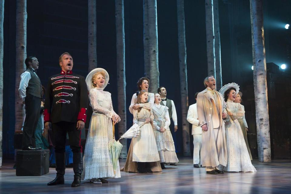 """Stephen Sondheim's """"A Little Night Music,"""" was presented by the Huntington Theatre Company in 2015."""