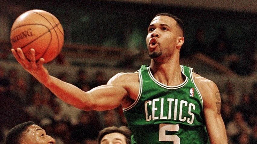 Ron Mercer Shares Some Advice For A Celtics Lottery Pick