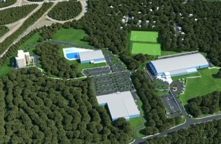 Plans for the New England Sports Village in Attleboro.