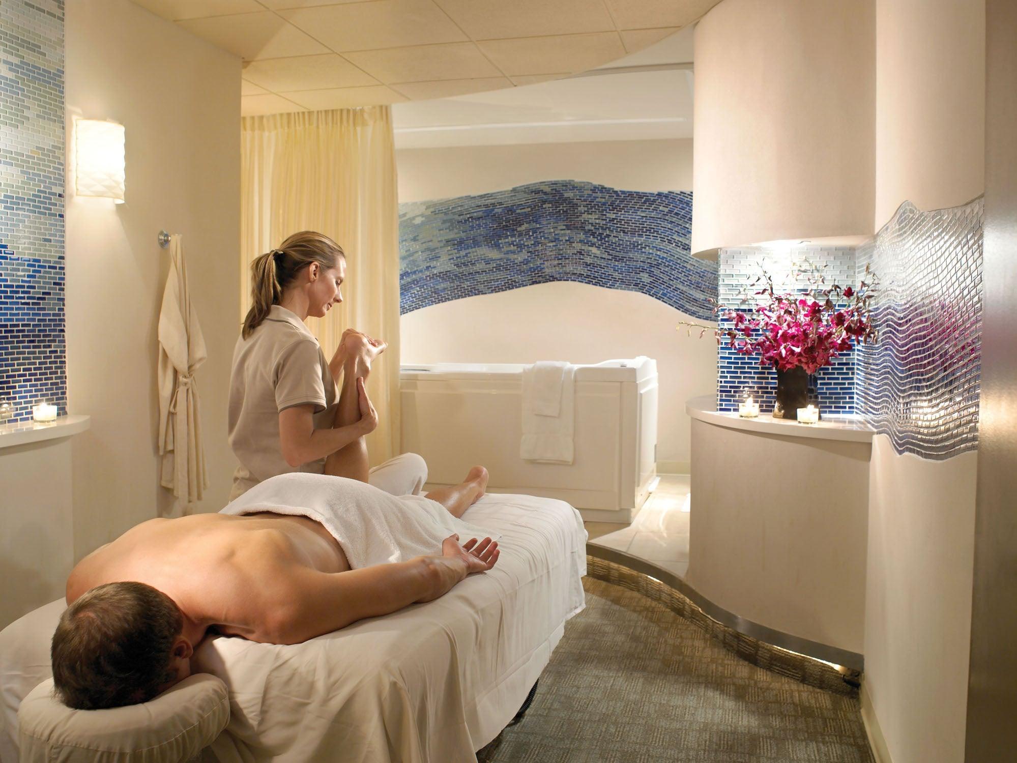 Canyon Ranch massage room