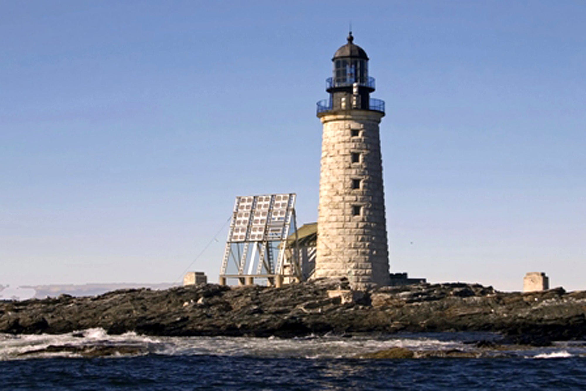 This Maine Lighthouse 10 Miles Out To Sea Is Getting A Makeover