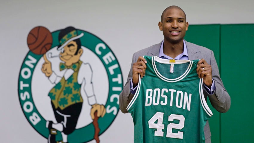 Image result for BOSTON CELTICS SIGNS AL HORFORD