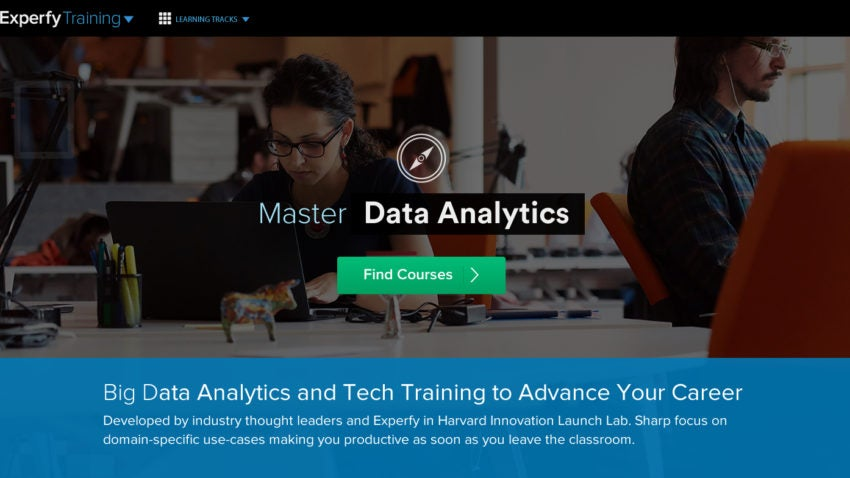 Experfy launched its training program this week.