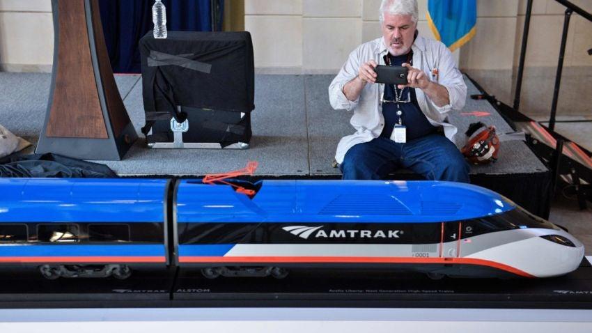 Amtrak S Answer For Aging Acela Fleet 160 Mph Trains Boston Com