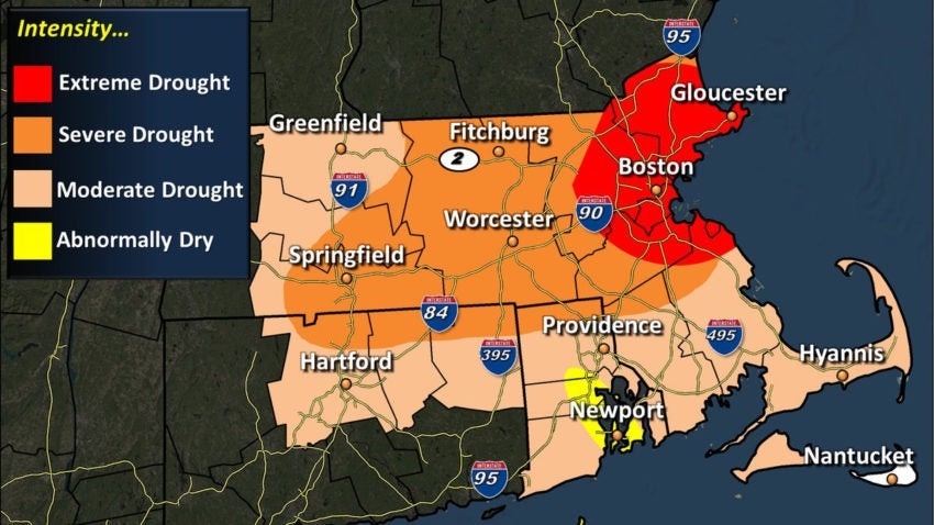 Extreme drought conditions declared for northeastern Massachusetts ...