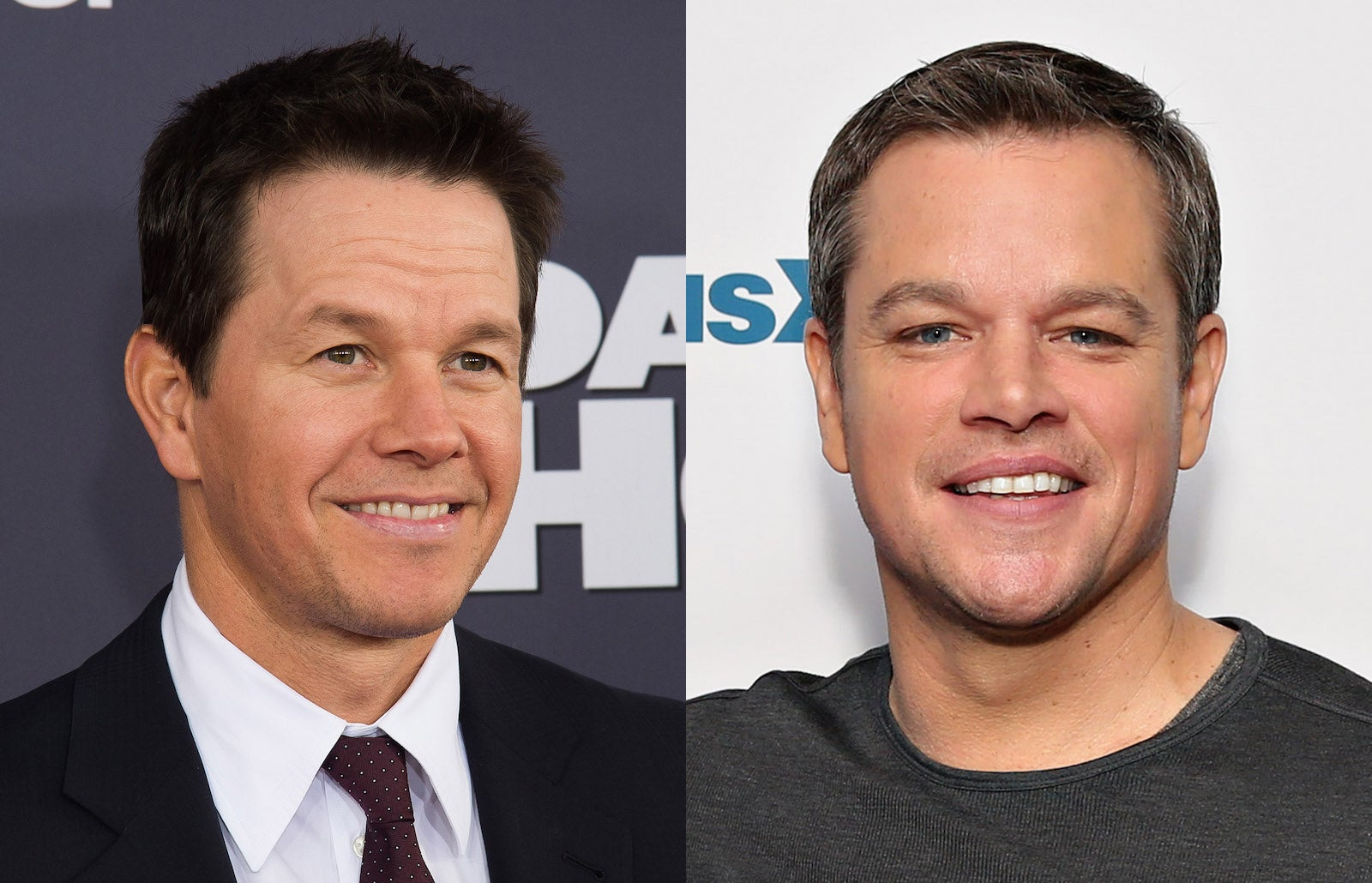 Matt Damon Mark Wahlberg Text Traffic Club