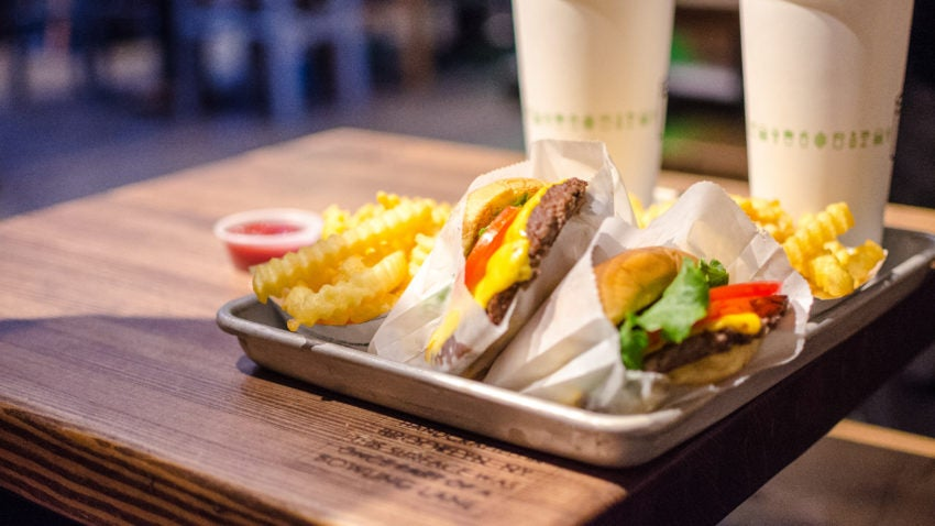 Shake Shack's 100th location is opening in Boston, and they're celebrating with free burgers