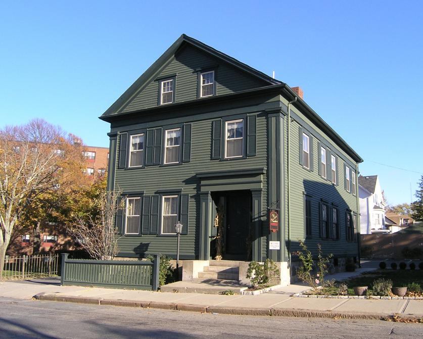 Take a trip to the Lizzie Borden House in Fall River...if you dare!