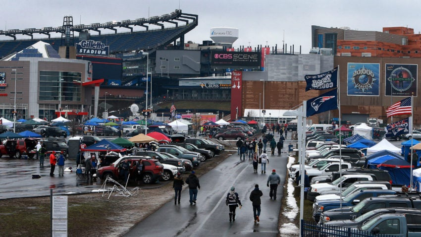 Car Dealerships Open Today >> Police to ensure Patriots fans aren't abusing handicapped parking spots at Gillette Stadium ...