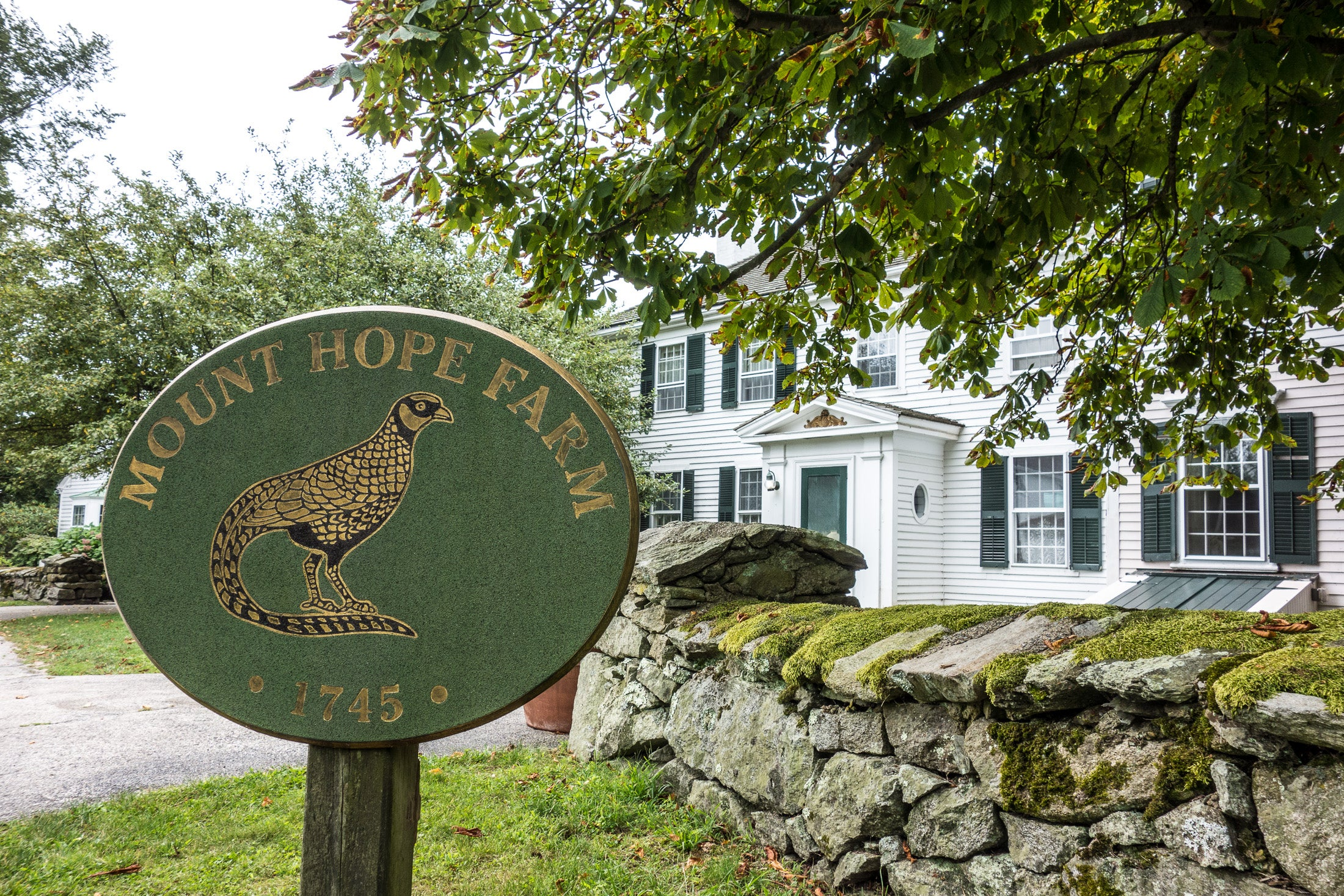 Mount Hope Farm (also known as Gov. William Bradford House) is an historic estate on Metacom Avenue in Bristol, Rhode Island.