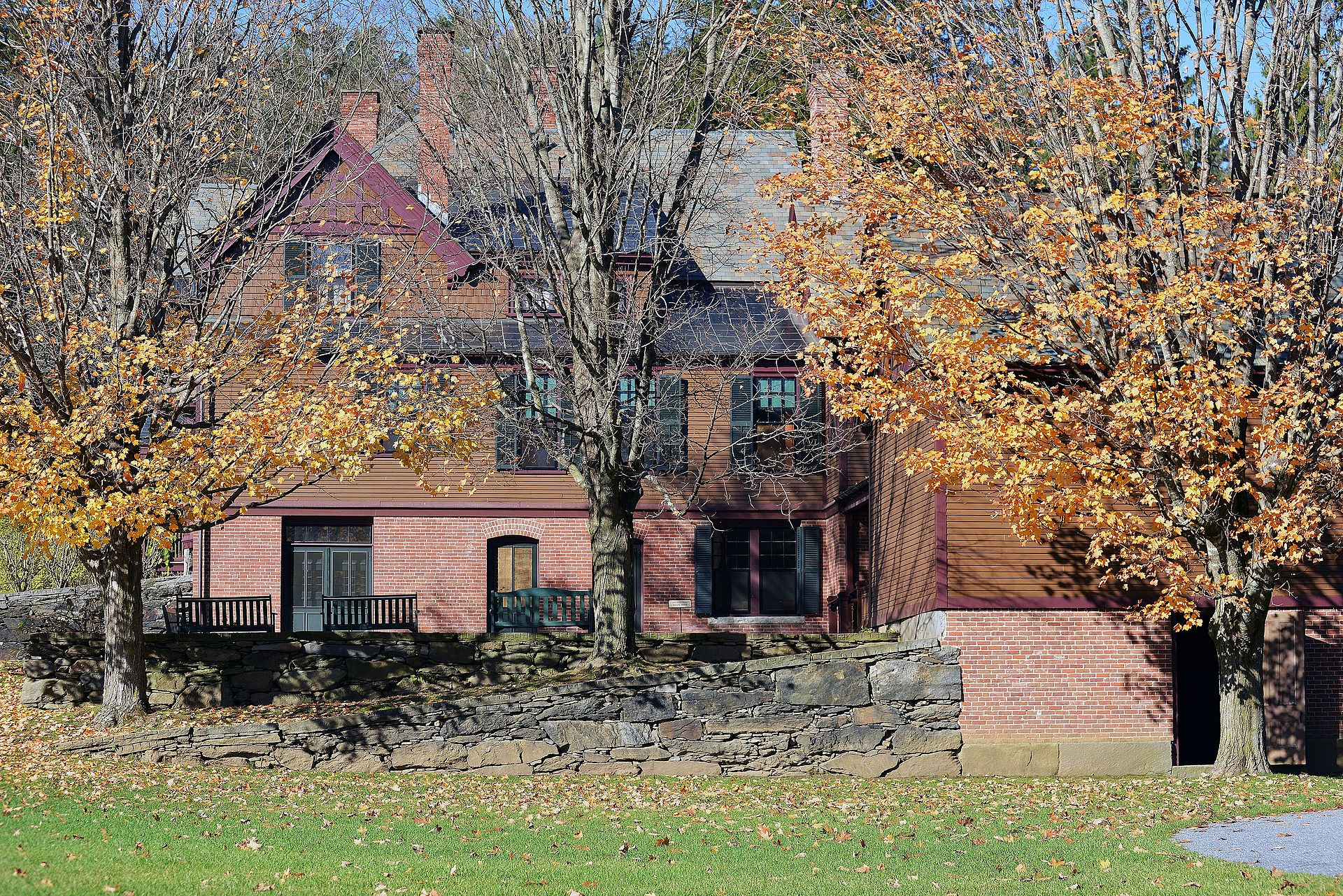 A view of Billings Farm and Museum.