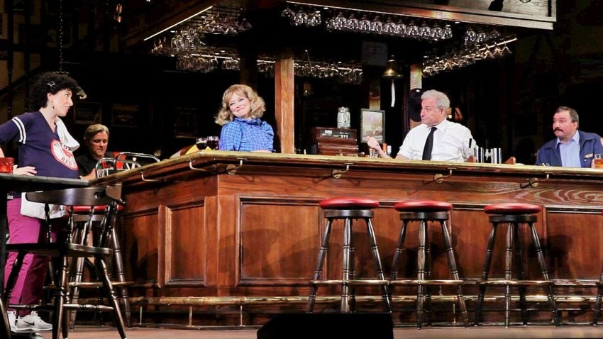 The cast of 'Cheers Live on Stage.'