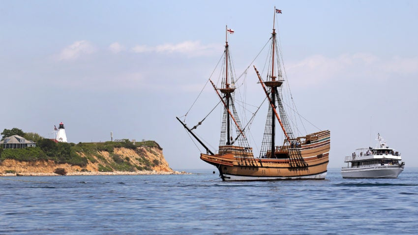 Don 39 t give up the ship mayflower replica gets a makeover for Mayflower car shipping