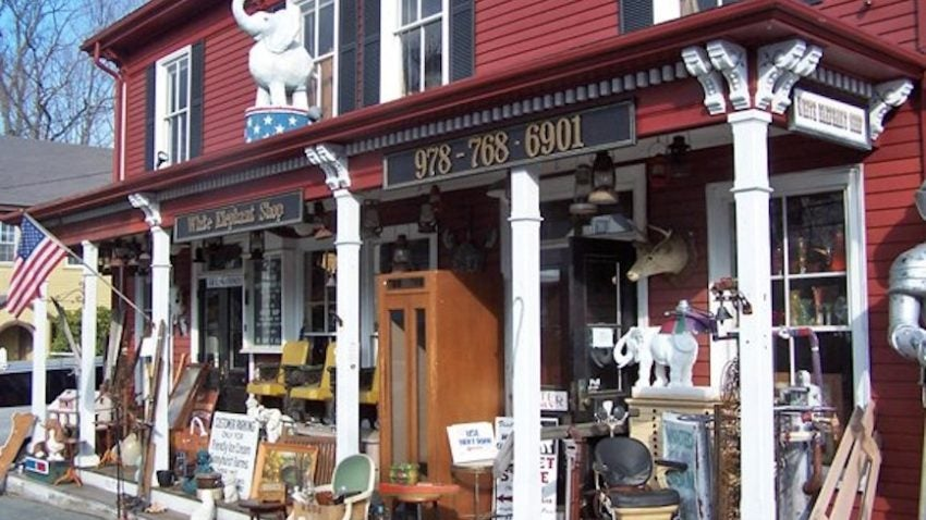 these 6 new england antique stores are within an hour of boston