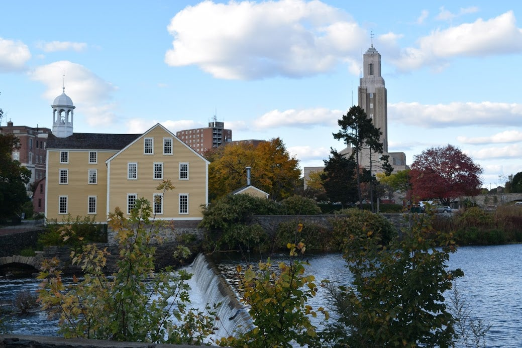 A view of Slater Mill.